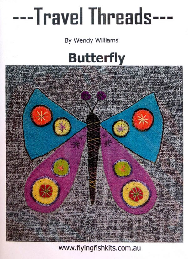 Travel Threads - Butterfly