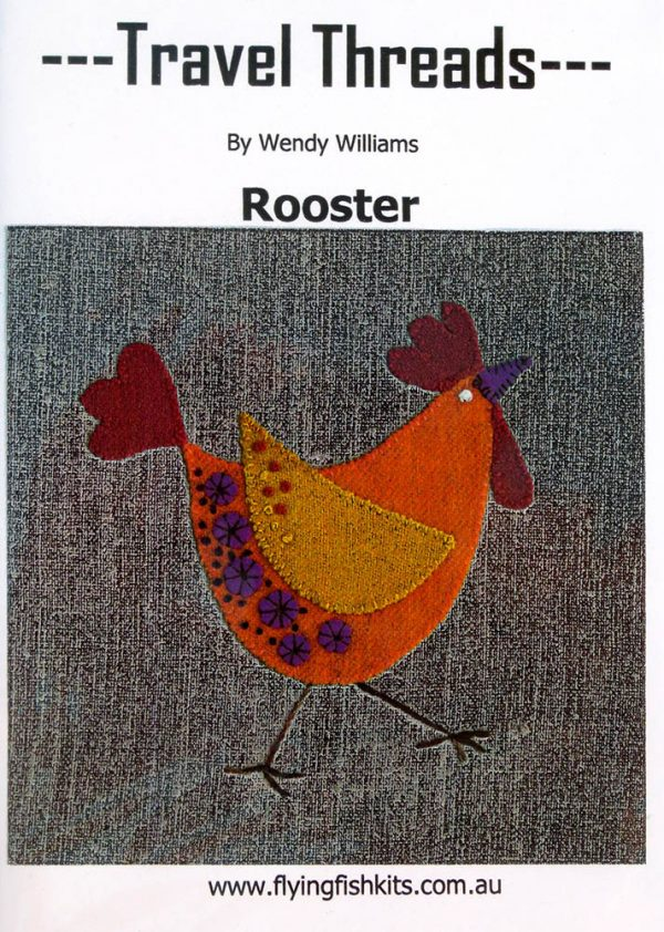 Travel Threads - Rooster