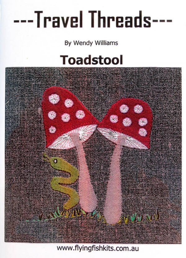 Travel Threads - Toadstool