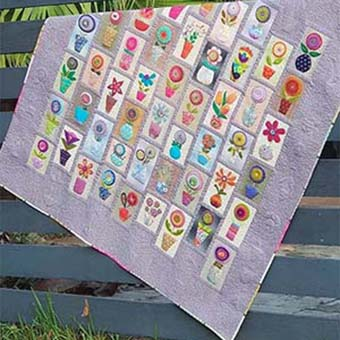 Pretty Little Pots Quilt