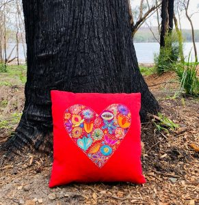 Fill My Heart Cushion
