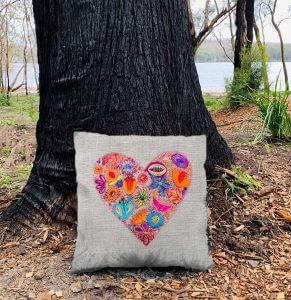 Fill My Heart Cushion