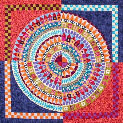 Full circle quilt