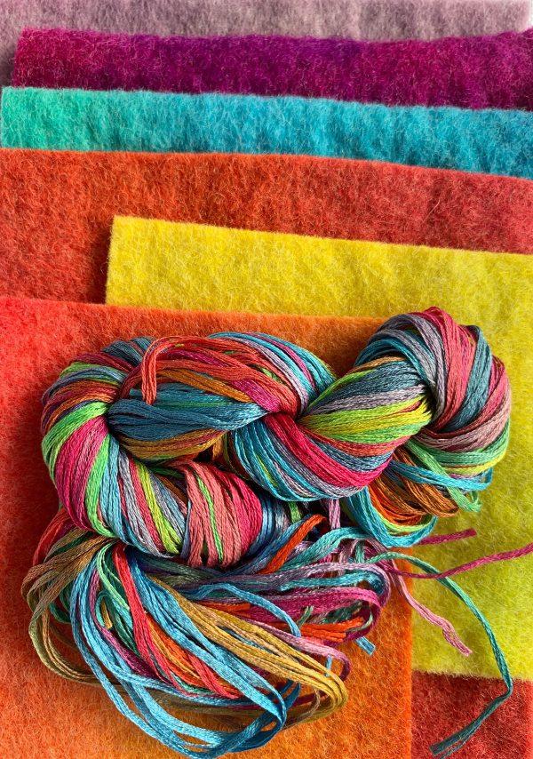 Growing Wild Cushion Felt and Silk Pack