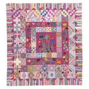 Looking Up Quilt